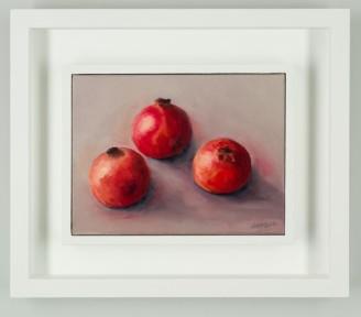 Framed pomegranates