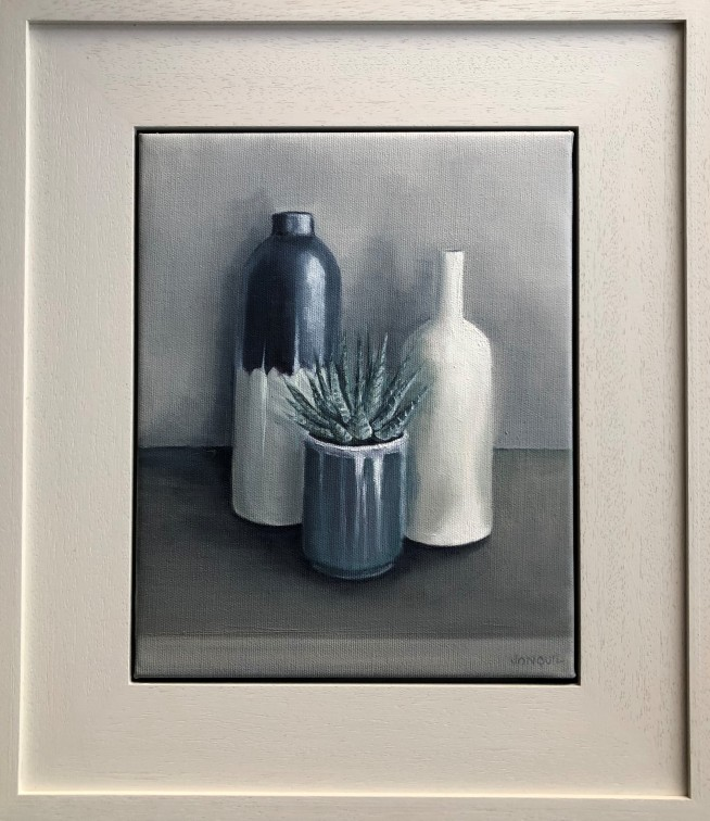 Still life with succulent