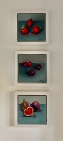 trio of red fruits