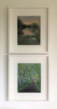 Esher Paintings framed
